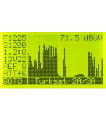 Satfinder 3HD Slim KU/C/KA-Band, DVB-S/S2, Spectrum, Unikabel