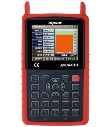 Alpsat AS06-STC + AHD  Combo Messgerät