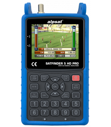 Satfinder 5 HD PRO  DVB-S/S2 mit NIT und KU/KA/C-BAND Funktion Profi Messgerät