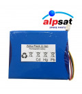 ALPSAT Satfinder Spare Part 5HDS and 5HD PRO Akku
