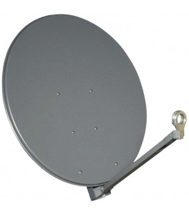 Gibertini Sat Antenne OP85XP,Profi-Serie, 85cm, Farbe Anthrazit