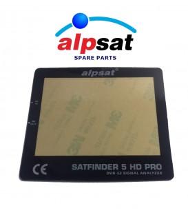 ALPSAT Satfinder Ersatzteil 5HD PRO Frontblende  Display