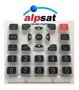 ALPSAT Satfinder Ersatzteil 5HDPRO/AS06-STC Tastatur