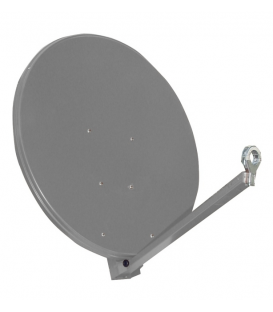 Gibertini satellite antenna OP100XP, Profi-Serie, 100 cm, anthracite