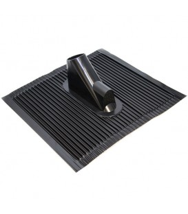 Aluminum roof tile 450mmx500mm with cable entry
