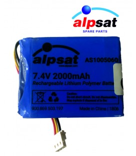 ALPSAT Satfinder Spare Part SF03-BT Akku