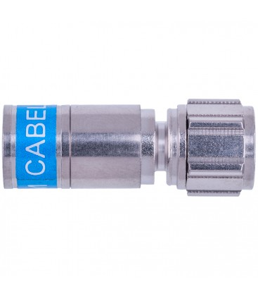 Cabelcon F-56-CX3 7.0 QM Quick Mount Compression connectors for RG6 (6,4-7,5 mm) Cabel, water proof