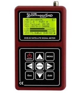 ALPSAT Satfinder 3HD Slim KU/C/KA-Band, DVB-S/S2, Spectrum, Unikabel