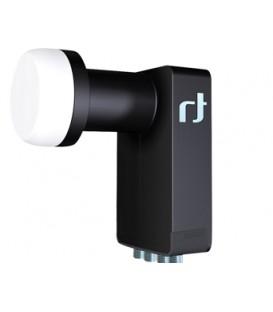 Inverto Black Ultra Quattro High-Gain 40mm LNB, FULL HDTV/UHD-fähig